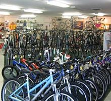 Idle Times has four convenient locations. They have tons of great bikes and equipment for sale, including clothing and racks. They rent comf...