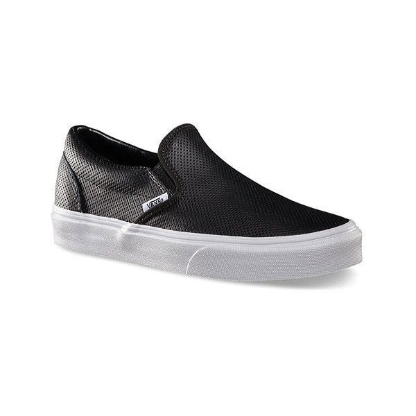 49fe4f42ec Vans Classic Slip-On ( 60) ❤ liked on Polyvore featuring shoes ...