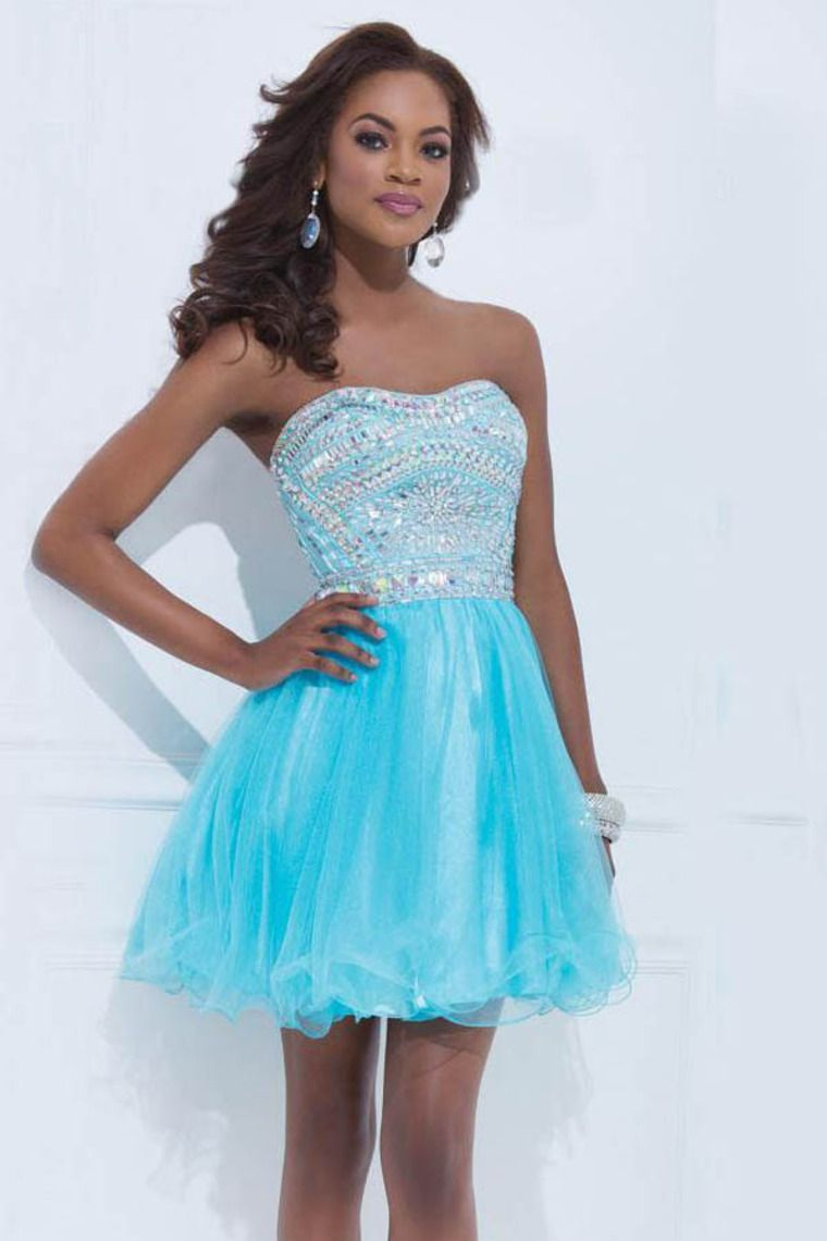 Shop brilliant short prom dress with beaded bodice online affordable