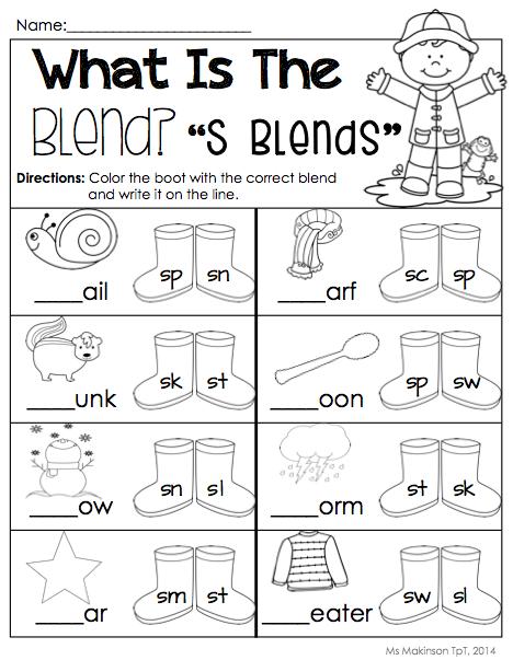 April Printables - Kindergarten Literacy and Math | Kind
