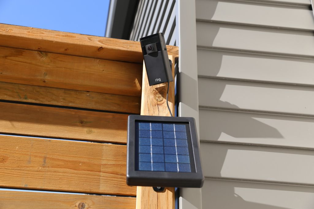 Ring Stick Up Cam And Solar Panel Combo Provides Peace Of Mind Solar Panels Solar Panels For Home Solar