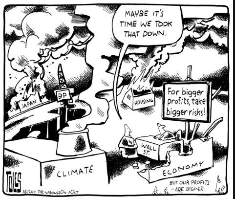 Best Climate Change Cartoons Risk Analysis By Tom Toles Risk