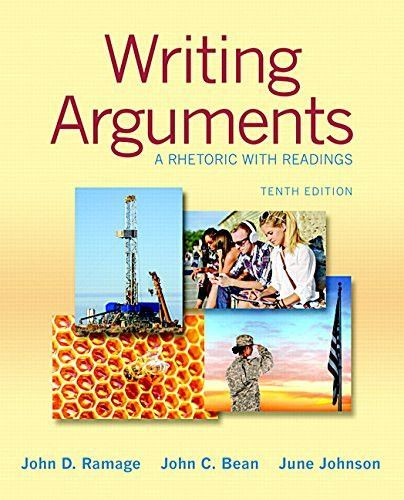 Writing Arguments A Rhetoric With Readings 10th Edition Ebook Writing Argumentative Writing Writing A Book