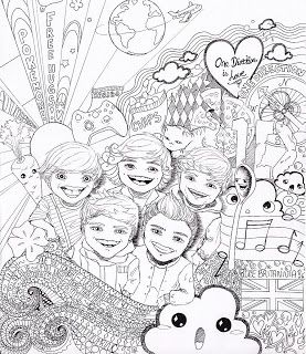 print one direction coloring pages - photo#15