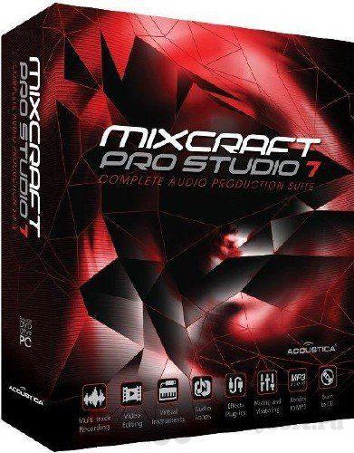 Acoustica Mixcraft Pro Studio 7.7.311 Crack + Serial Key Free Download