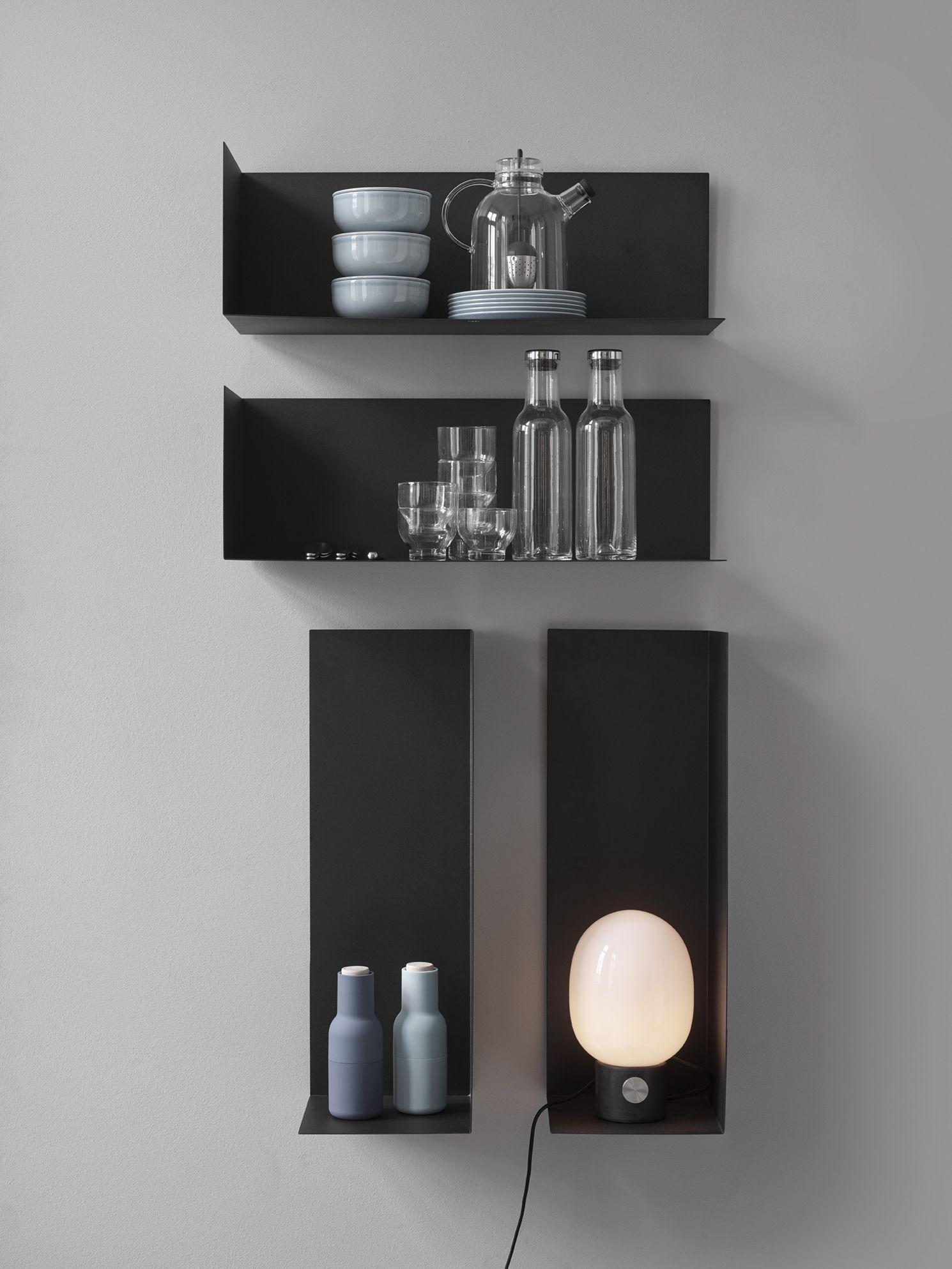 Menu Item Corner Shelves Image Yellowsstudio Modernism Reimagnied Shelving Design Shelves Menu Furniture