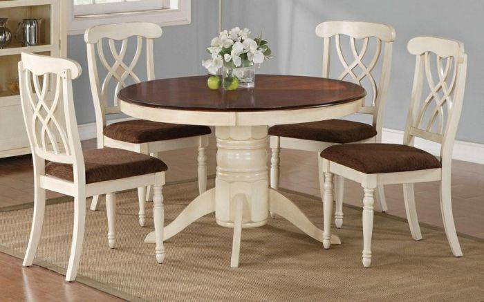 Tisch mit Stühlen - ein Schmuckstück für Ihre Wohnung - Archzine.net ...
