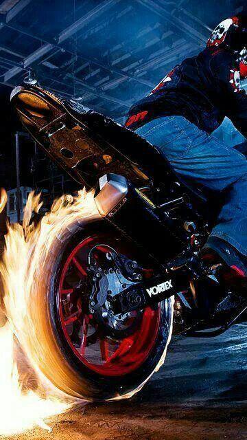 Quemando Llanta Motos De Motocross Motos Deportivas Fondos De Motos
