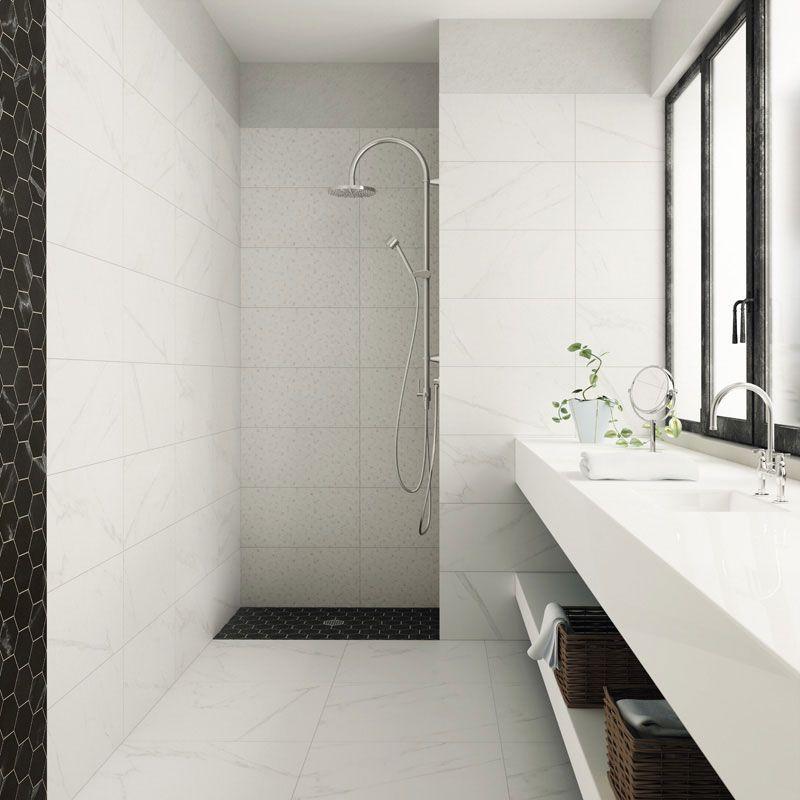Carrara Polishedrectified 12x24 Porcelain Tiles Stone Tile