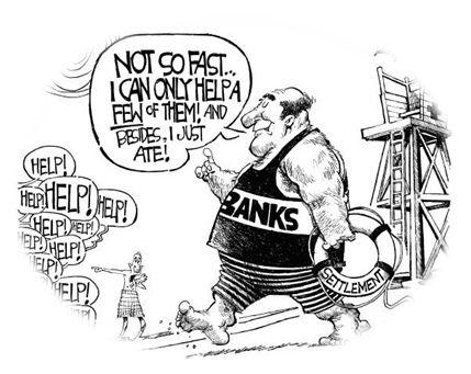 Mortgage Fraud Settlement: Are Banks Forgiving Debts that