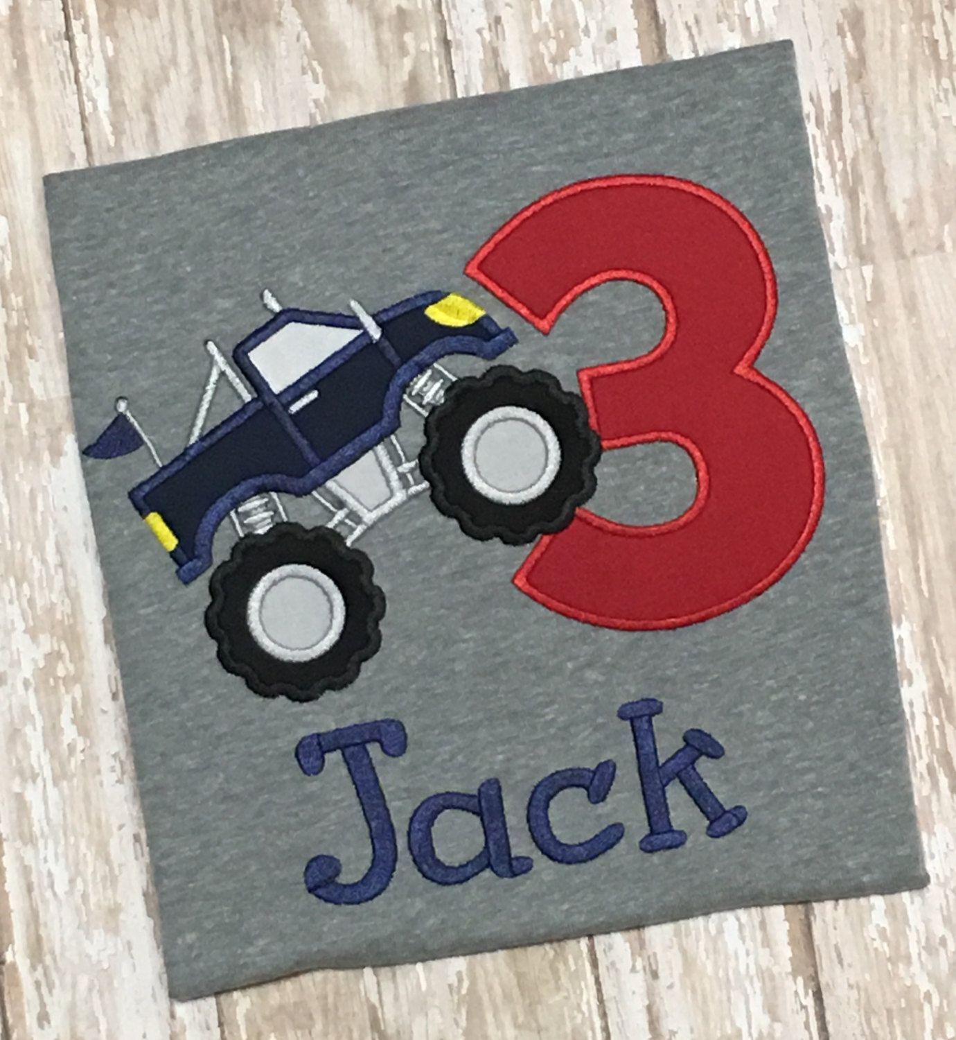 Pin by edie lowhorne on applique shirts pinterest monster truck