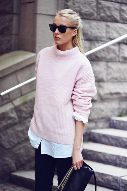 ellen claesson. Me encanta ese tono de rosado.