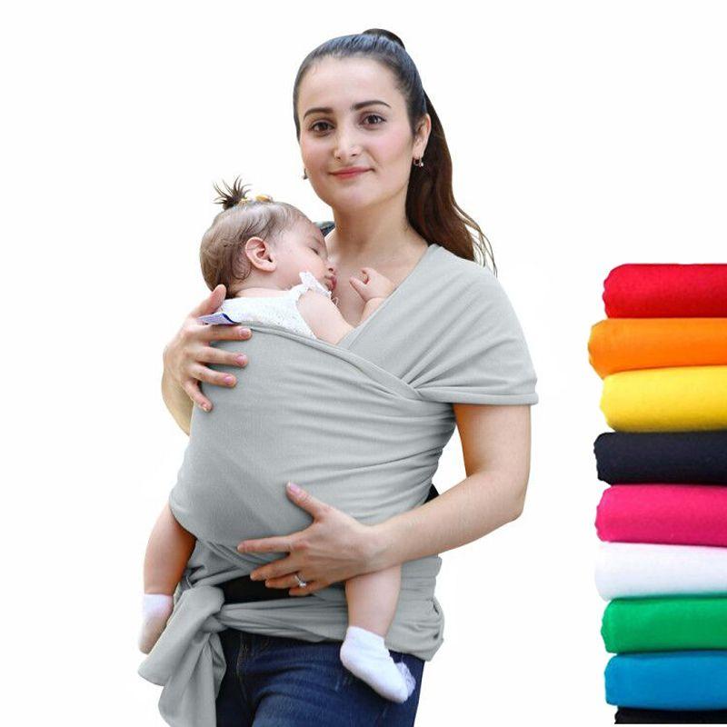 2016 Confortevole Moda Infantile Fionda Morbido Naturale Wrap Carrier Zaino Del Bambino 0-3 Anni Cotone Traspirante Seggiolino Da Anca Hipseat Copertura Infermieristica