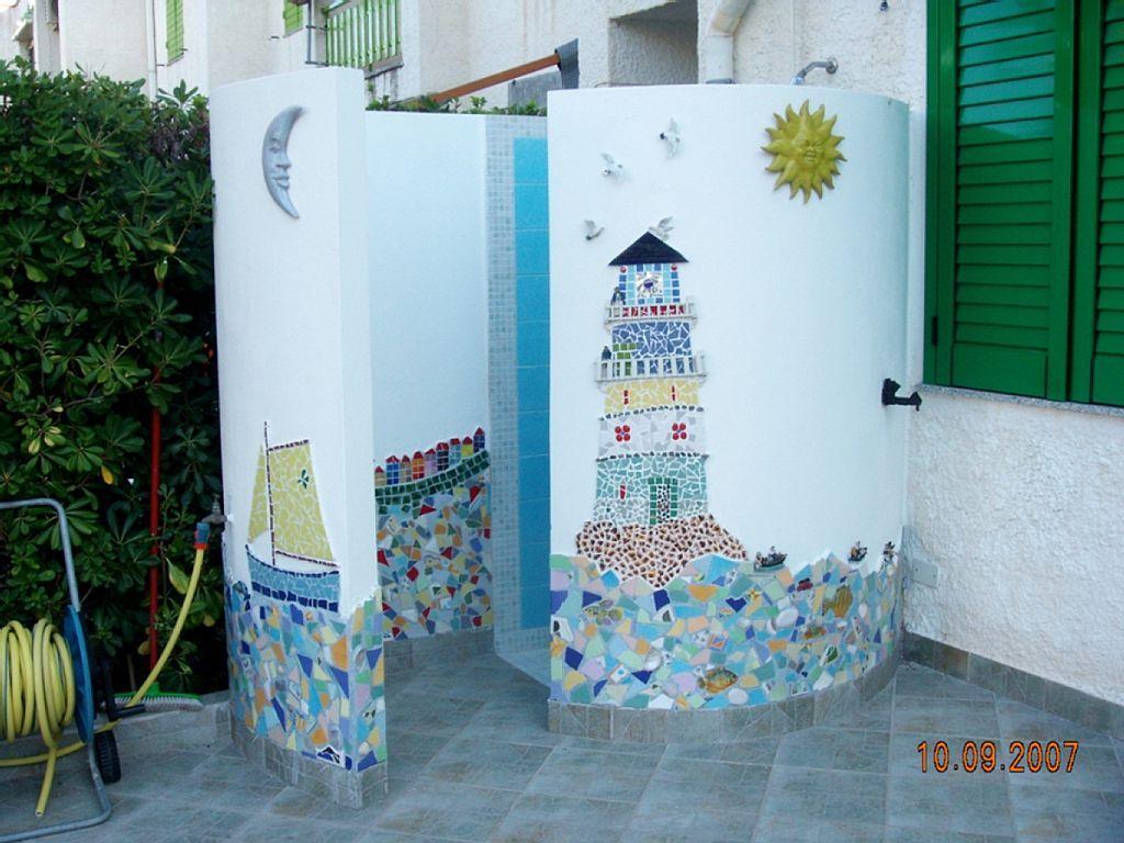 Affitto Appartamento Messina Doccia Esterna Riscaldata Doccia