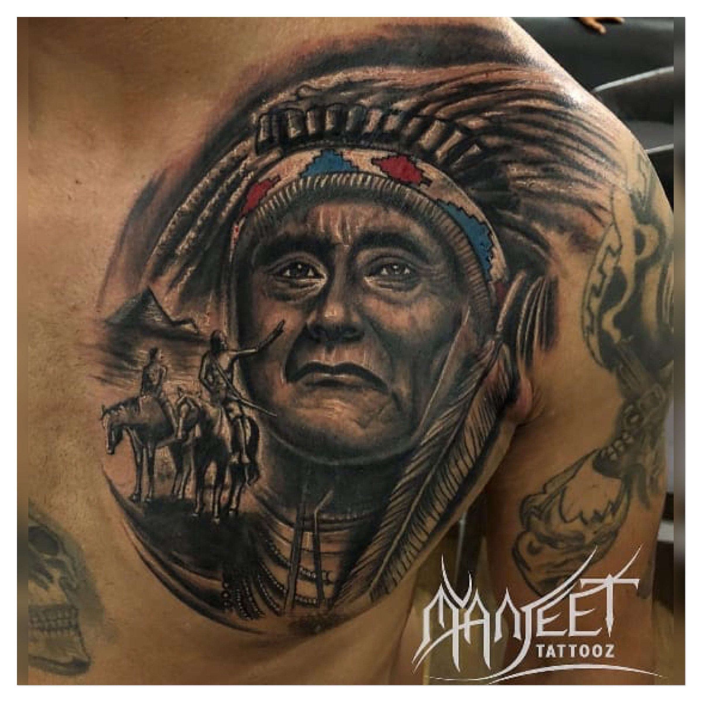Native American Tattoo Tattoo Artists Native American Tattoo Best Portrait Tattoo Artist