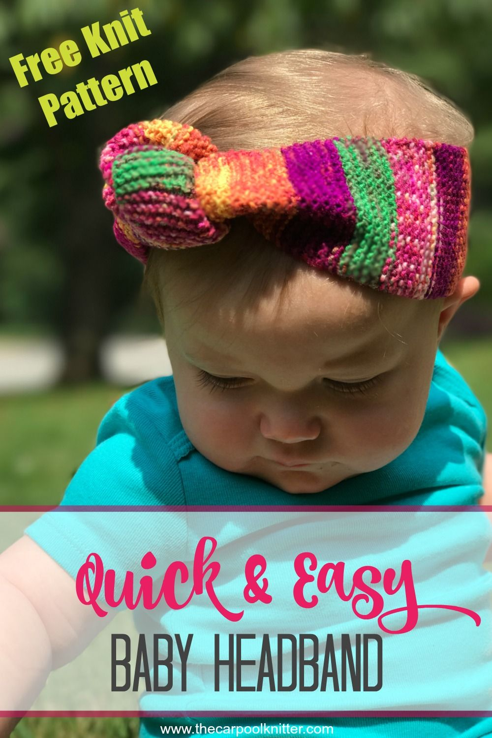 Love how fast and easy this knit pattern was to make! Such a great ...
