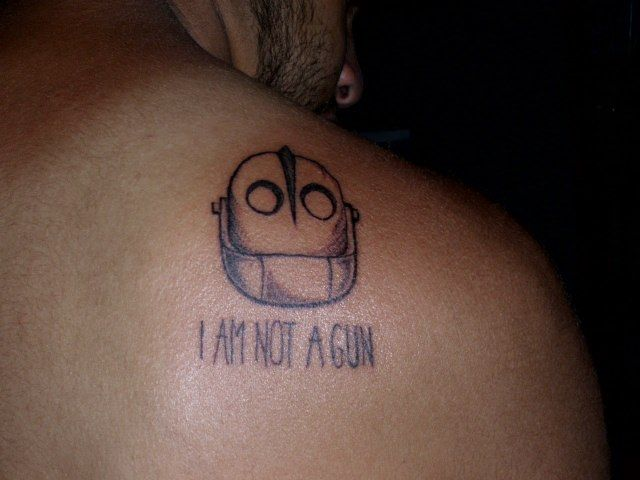 My first tattoo. Turned out better than I\'d expected. Big thanks to ...