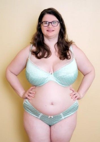 00ac36561e Full Bust Bra Review  The Beatrice Bra in Spotted Mint by Tutti ...