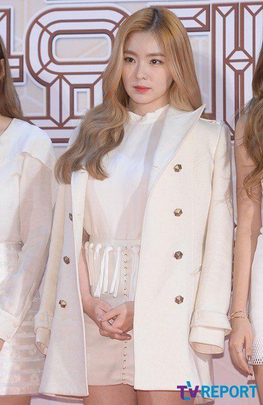 Top Female Idols Compete For The Title Of Top Visual In White Dresses Koreaboo Velvet Clothes Red Velvet Dress Red Velvet Irene