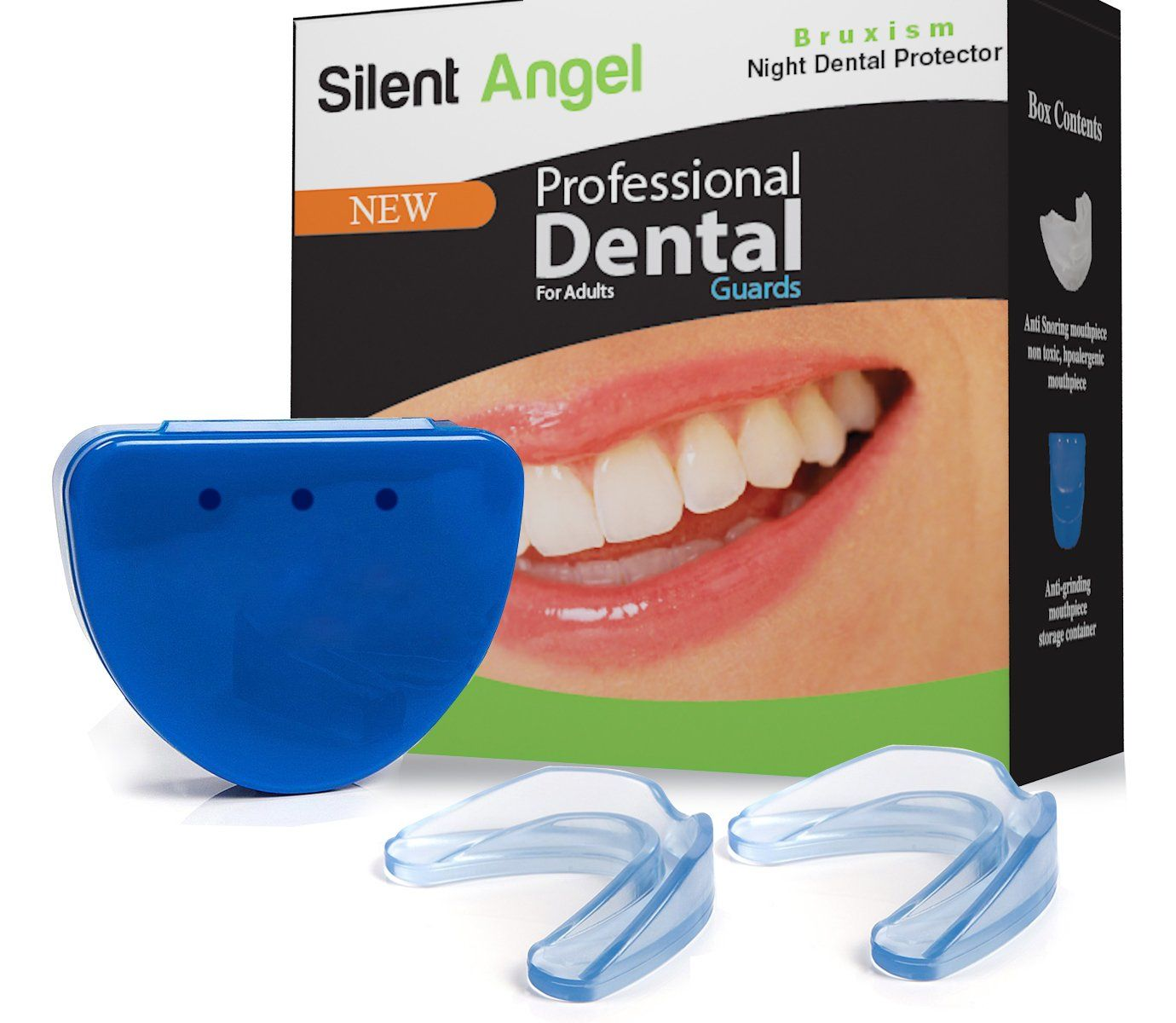 Professional Mouth Guard(2pack) Dental Protector for