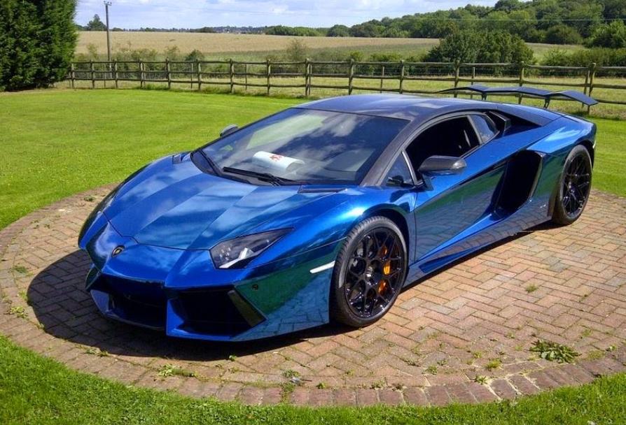 Lamborghini Blue And Black Wheels Lamborghini Lamborghini