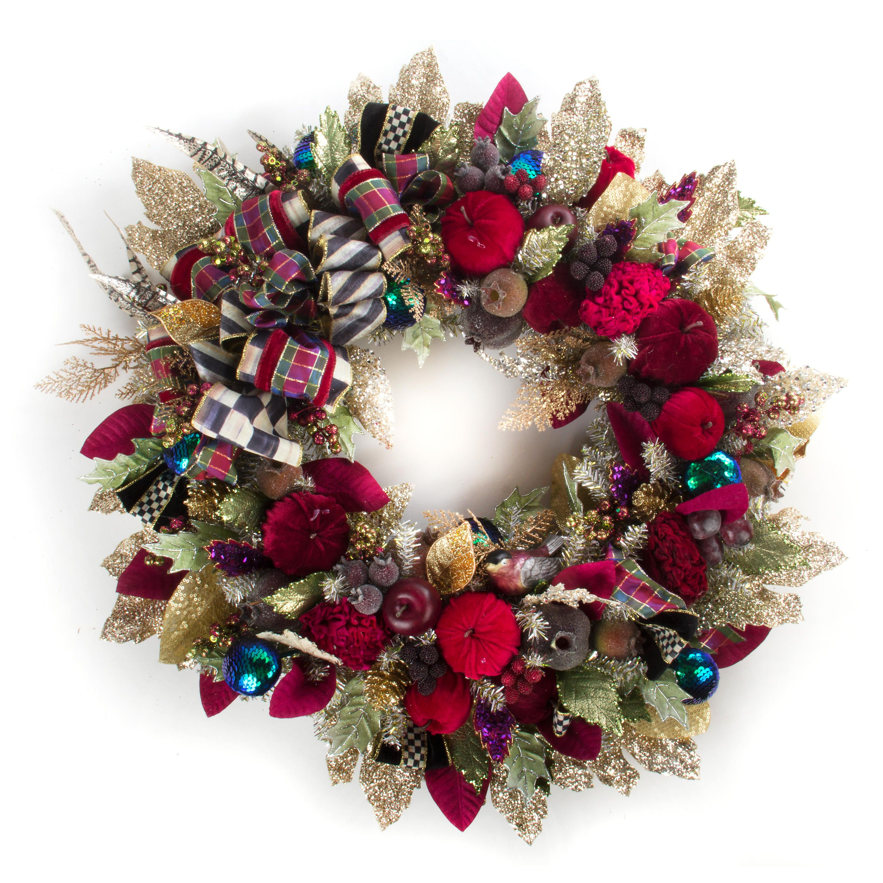 MacKenzie-Childs | Holiday Frost Wreath - Large