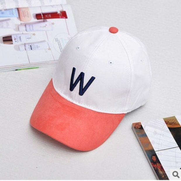 527ec77427859 Red   White W Cap Dad Hat for Women   Men Strapback Baseball Cap Bone Gorras  Casquette Masculino Chapeu Gorra Bones Black Gray Masculino