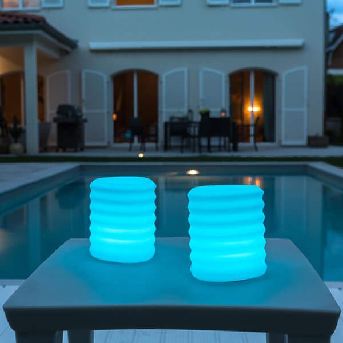 Moderne Smart Home Dekoleuchten Aussen Lampion Von Smart Green Weiss Lampions Gartenstrahler Led Und Led