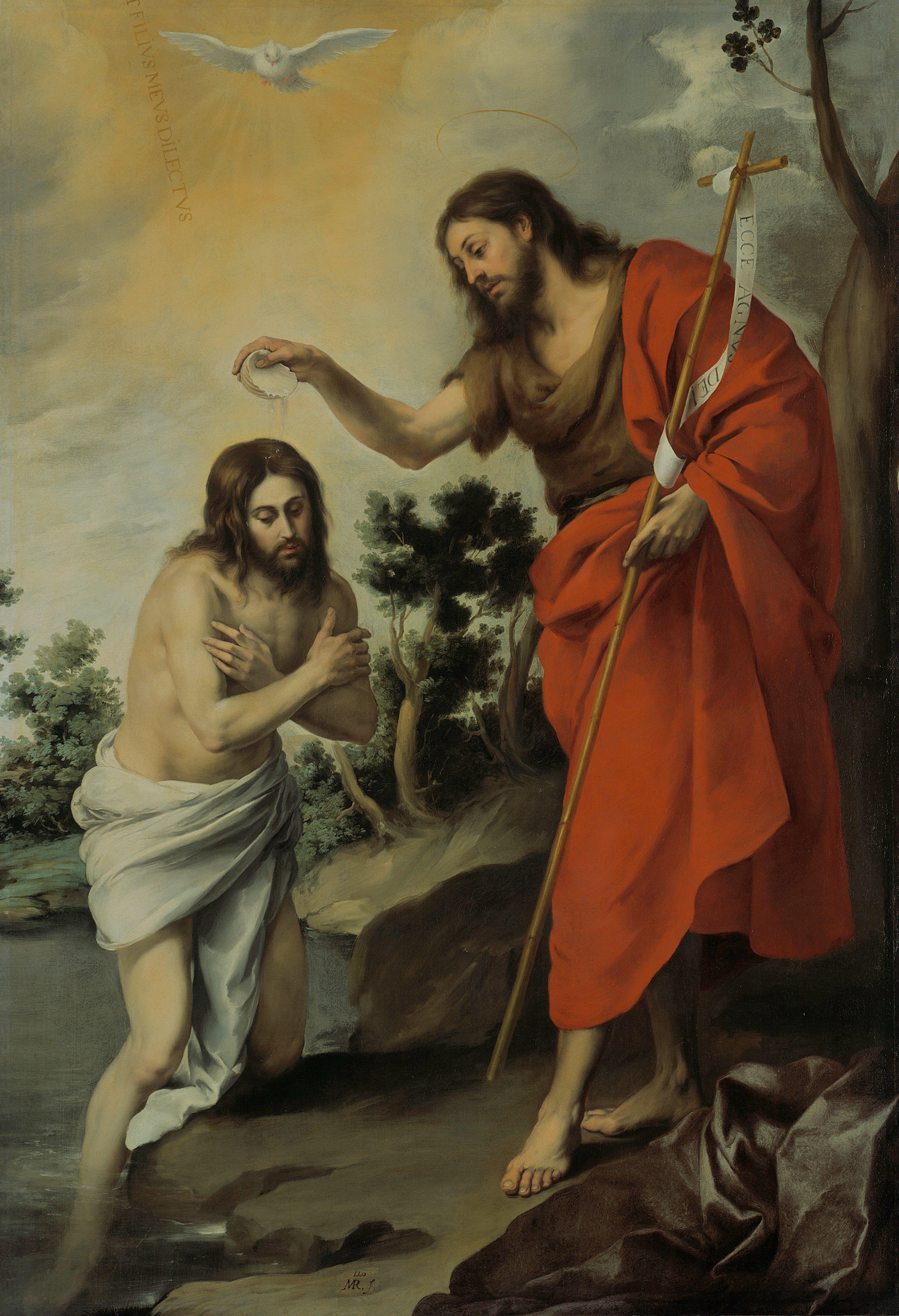 El bautismo de Cristo. | BAUTISMO DE JESUS | Pinterest | De cristo ...