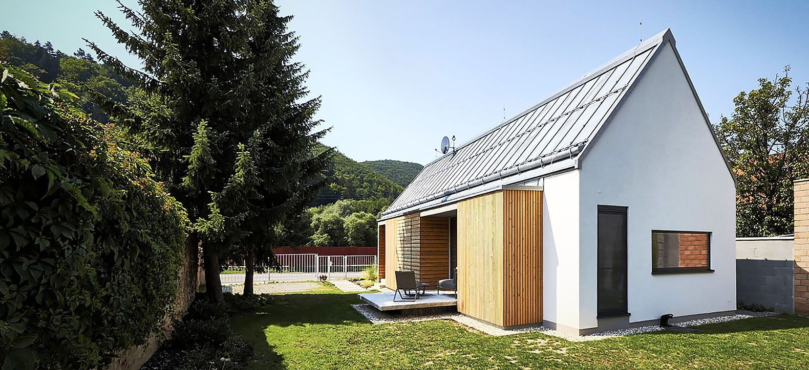 Slovakian Home Uses STEKO A Unique Construction Method From