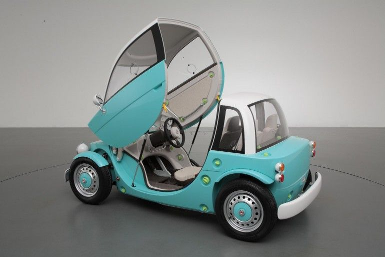 Toyota Camatte Concept A Kids Toy Car That Functions Like The