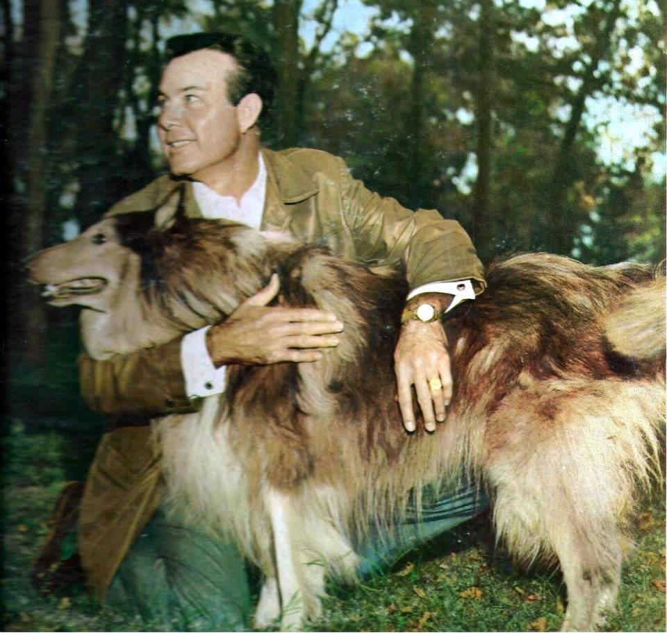 Jim Reeves and his Collie, Cheyenne. Cheyenne died 3 years after Jim ...