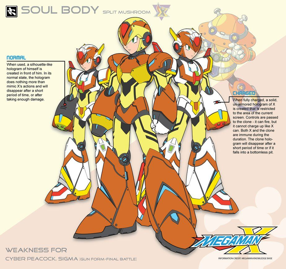 Megaman X4 Soul Body-Ver Ke by Redblaze4080 | REDBLAZE4080 | Mega