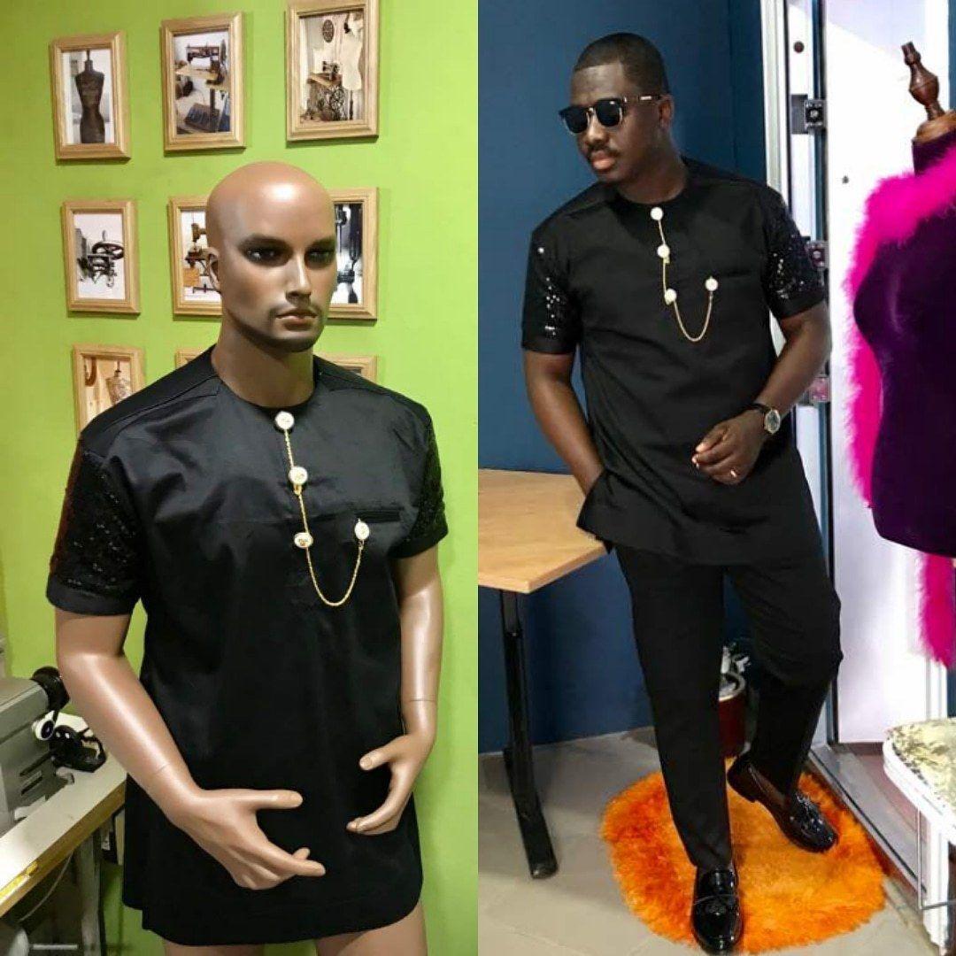eea2ab2ea52 2018 Black African Fashion Wedding Dashiki