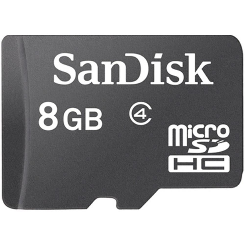 Sandisk Sdsdqb 008g Aw46 8 Gb Microsd Card With Adapter Class 4 Ultra Sdhc 32gb Speed 80mbps 10