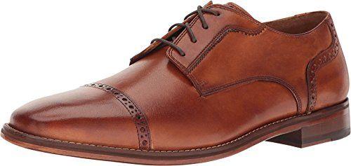 Cole Haan Men's Giraldo Luxe Cap Oxford II British Tan Shoe
