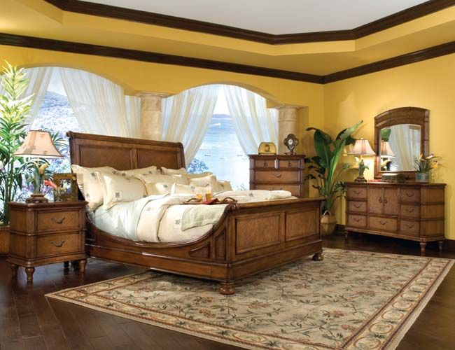 Hawaiian Bedroom Set With Images Tropical Bedrooms Beautiful
