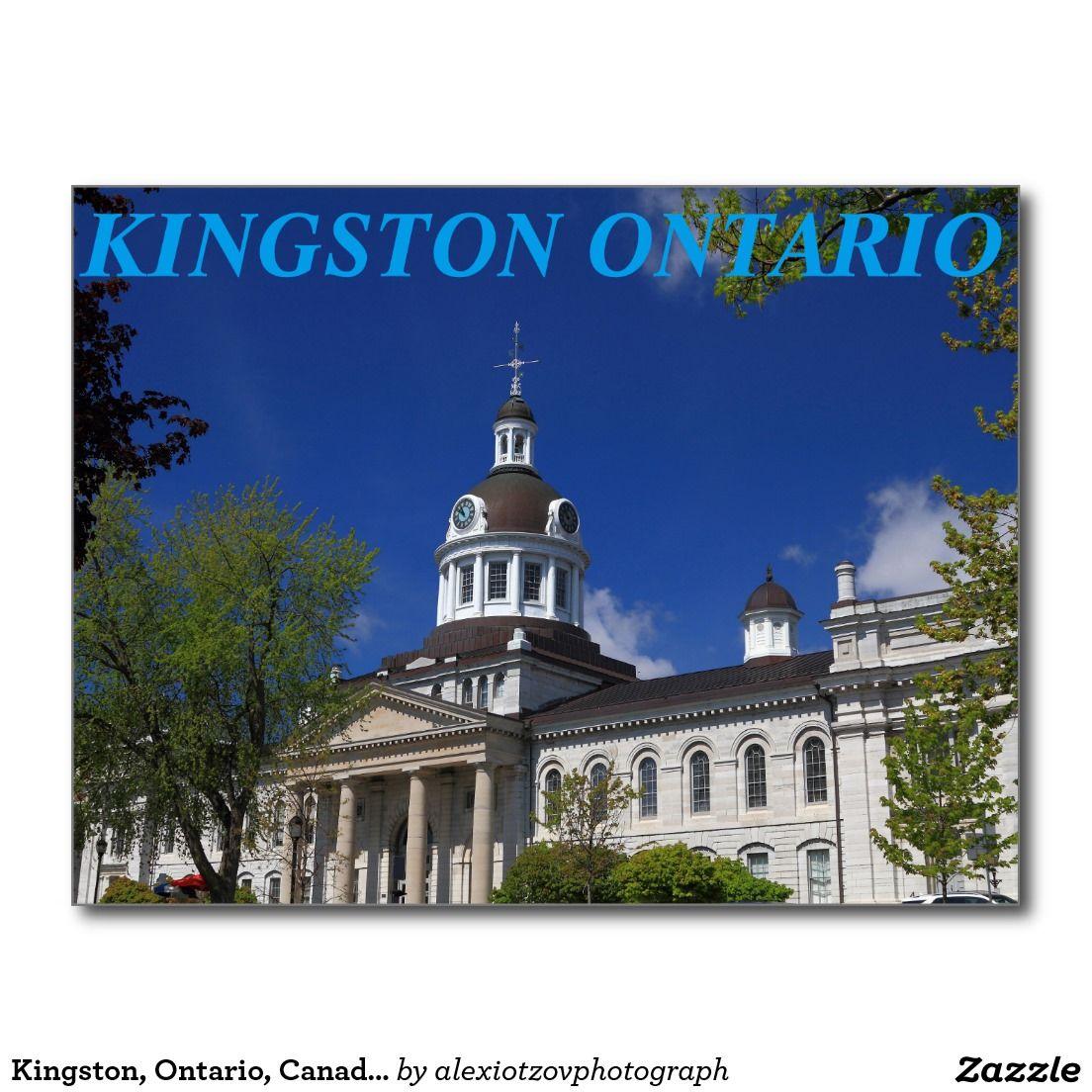 Kingston, Ontario, Canada City Hall Post Card City Hall