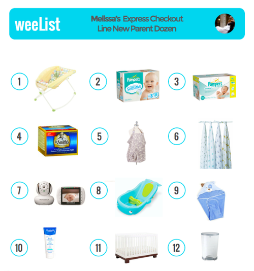 159726900d8 Newborn Necessities | You're in the express checkout line, and you can only  get TWELVE things to have on hand when you get home from the hospital.