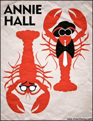 Annie Hall (maybe a lobster and/or an oversized tie & vest?)