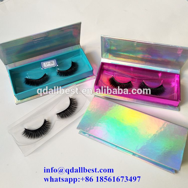 e3a9f97bef9 Own Brand Hot Sale 3D Silk Lashes with Custom Eyelash Packaging ...