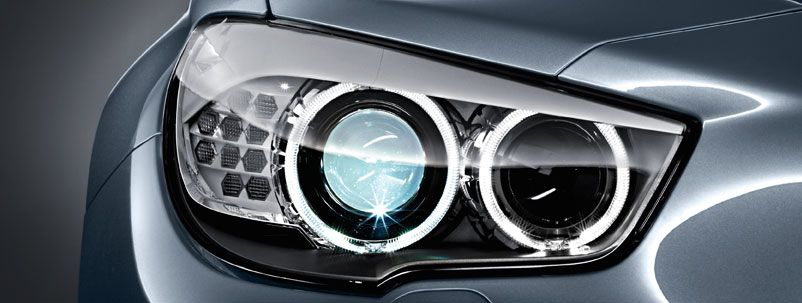 Front light systems of BMW 5 GT Bmw website, Bmw 5