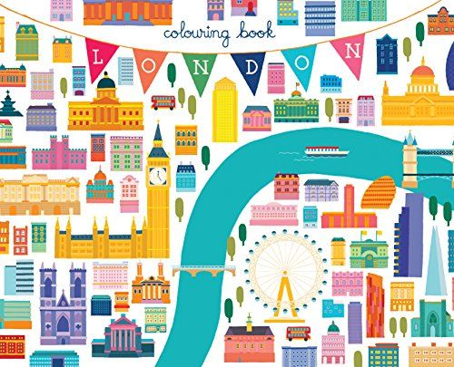 London Colouring Book: Mini Edition - Kids Travel Books