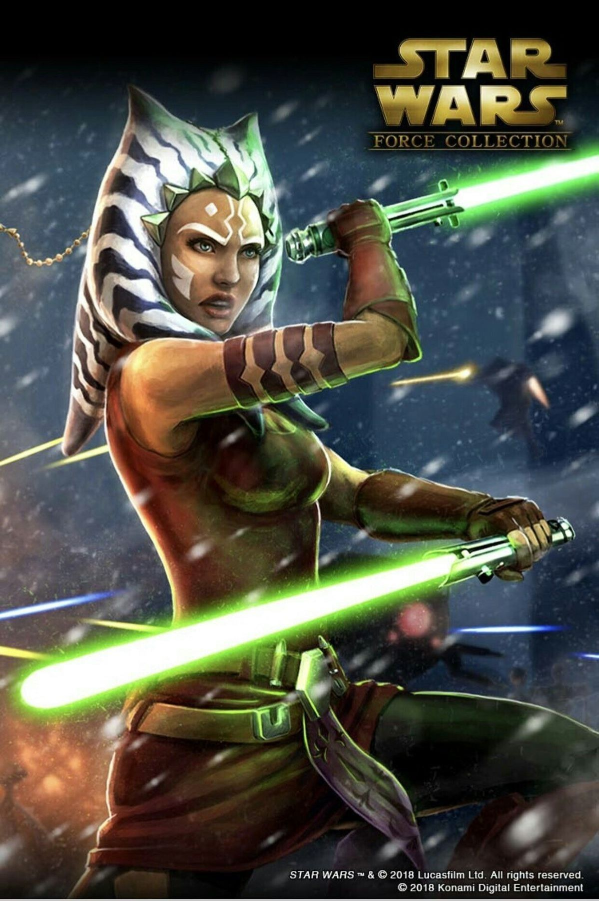 Ahsoka Tano Force Collection Star Wars Force Collection Star