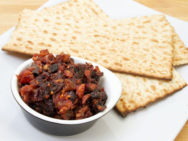 interesting sephardic style charoset that I wanted to try for passover, but since I still have left over orange blossom water and hundreds of boxes of matzo....