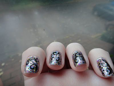 glitter swirls