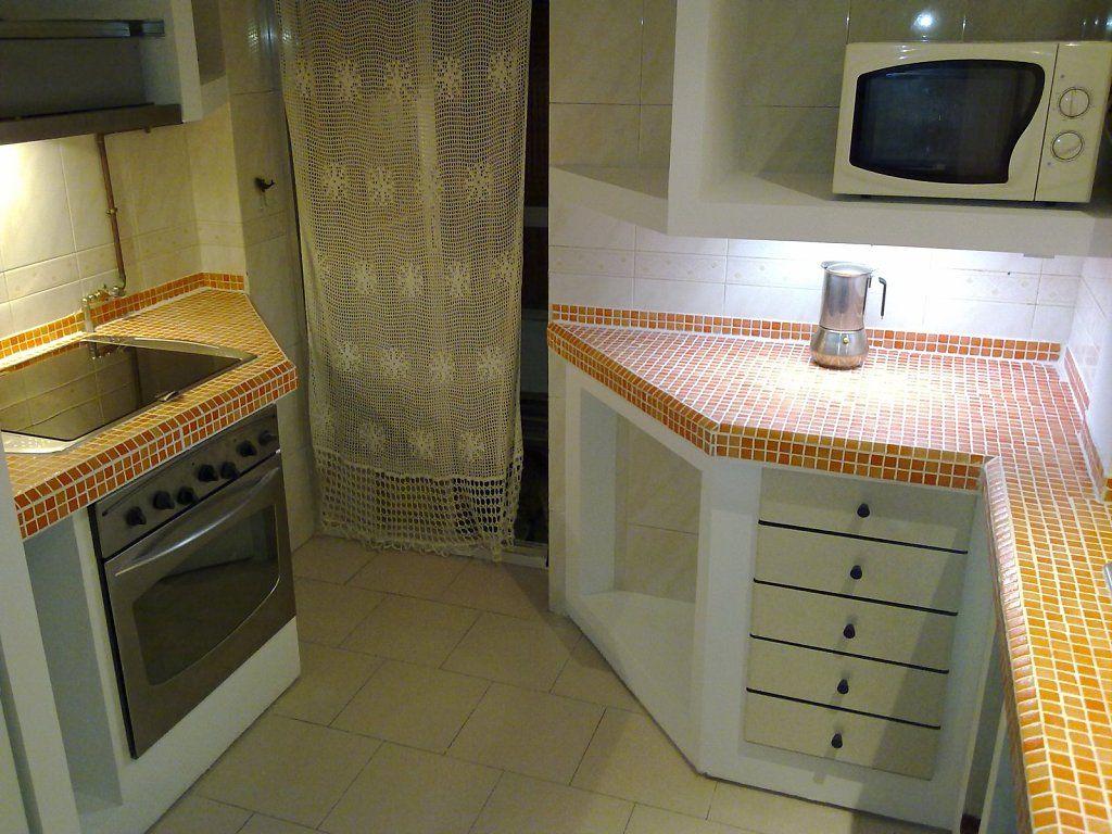 Resultado de imagem para muebles de yeso laminado - Como hacer una cocina de obra ...