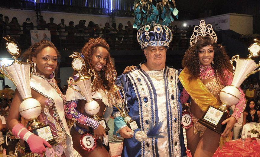 Rei Momo E Rainha Do Carnaval 2017 Quatro Homens E 11 Mulheres