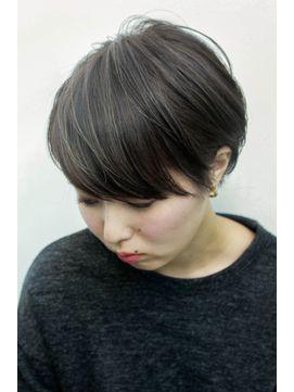 アッシュグレー ショート ハイライト 白髪 の画像検索結果 ヘア