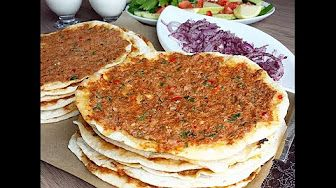 Youtube bread pinterest turkish cuisine cuisine and pizzas i do not speak turkish but damn i wanna eat that forumfinder Choice Image